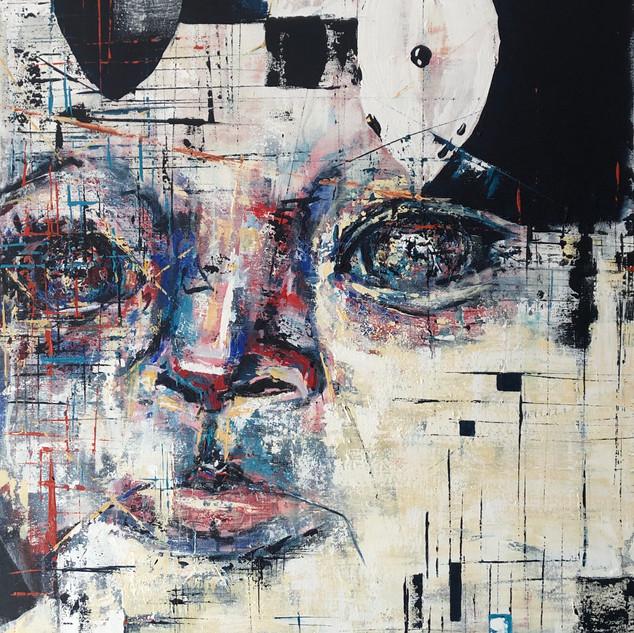 Belen, 2020, acrílico sobre lienzo, 110 x 80 cm