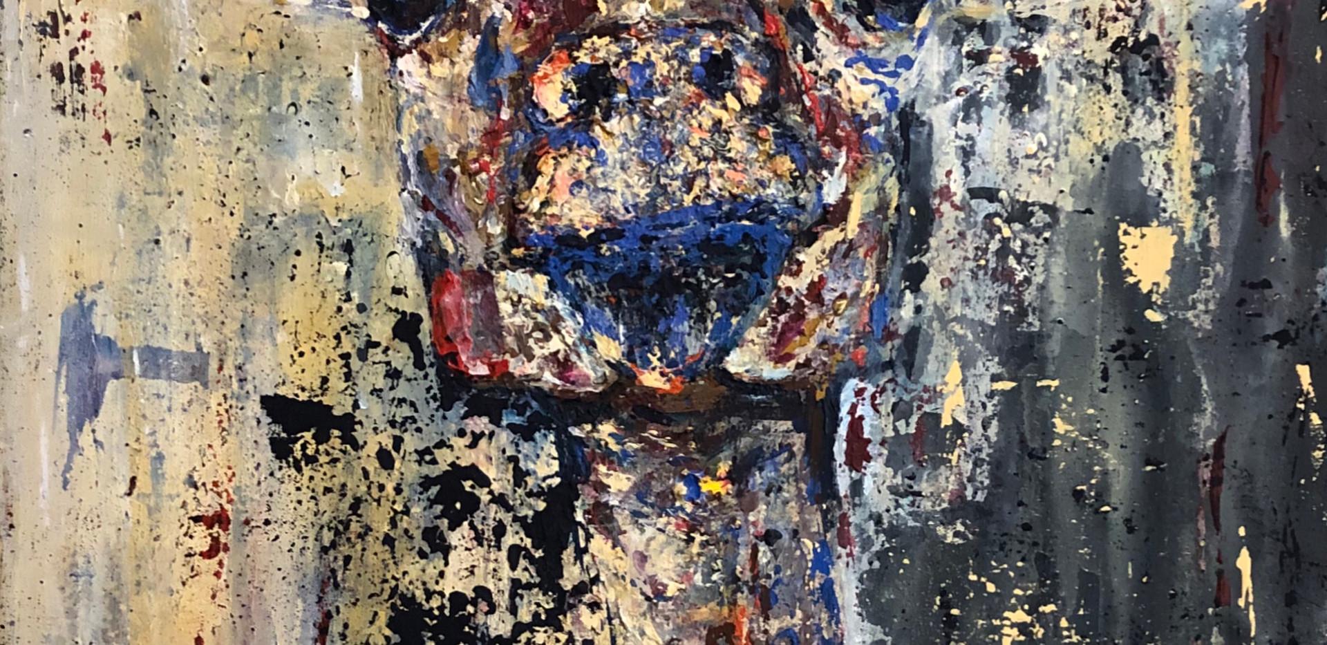 Fito 2, 2020, acrílico sobre lienzo, 80 x 50 cm