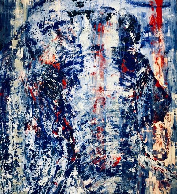 Bubba, 2019, acrílico sobre lienzo, 130 x 90 cm