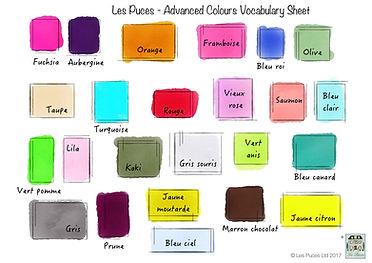CCC20 Advanced colours vocab sheet V3 Jp