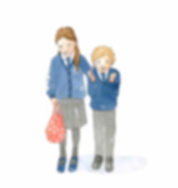 Bilingual French English  childrens books ages 3-11 years, kids, easy reader, all about autumn