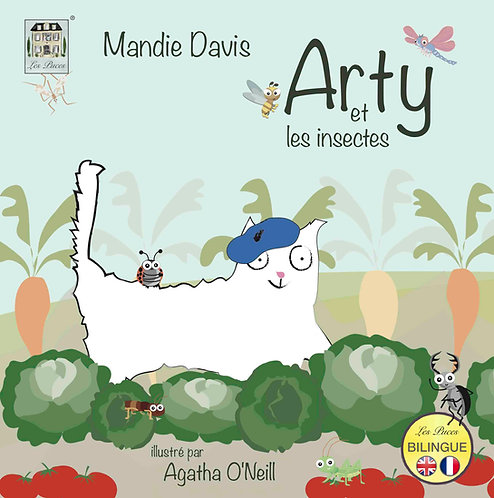 Arty et les insectes - Arty and the insects (book)