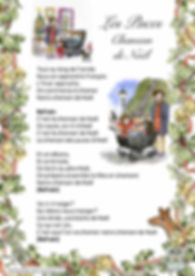 Les Puces Ltd French Classes or cildren Lytics Sheet for Christmas song 2017