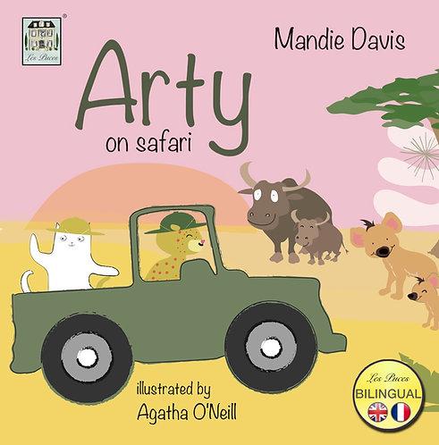 Arty en Safari - Arty on Safari (book)