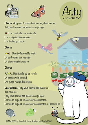 Les Puces French Lessons and activities for children, kids, aged 3 to 11 years KS1, KS2, secondary schools online French Learning, French Home Learning, project and bilingual book by post pre-school, primary school and after school French Lessonspeg V3.jpg