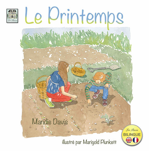 Le Printemps - Spring (book)