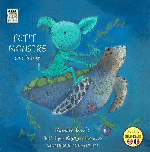 Petit Monstre sous la mer - Little Beast under the sea (book)