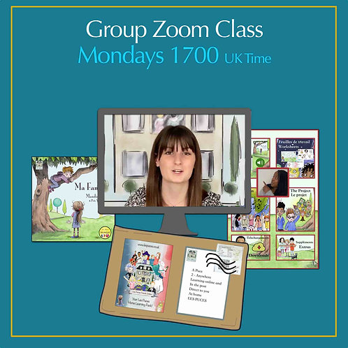 Group Zoom Class Monday 1700 (UK Time)