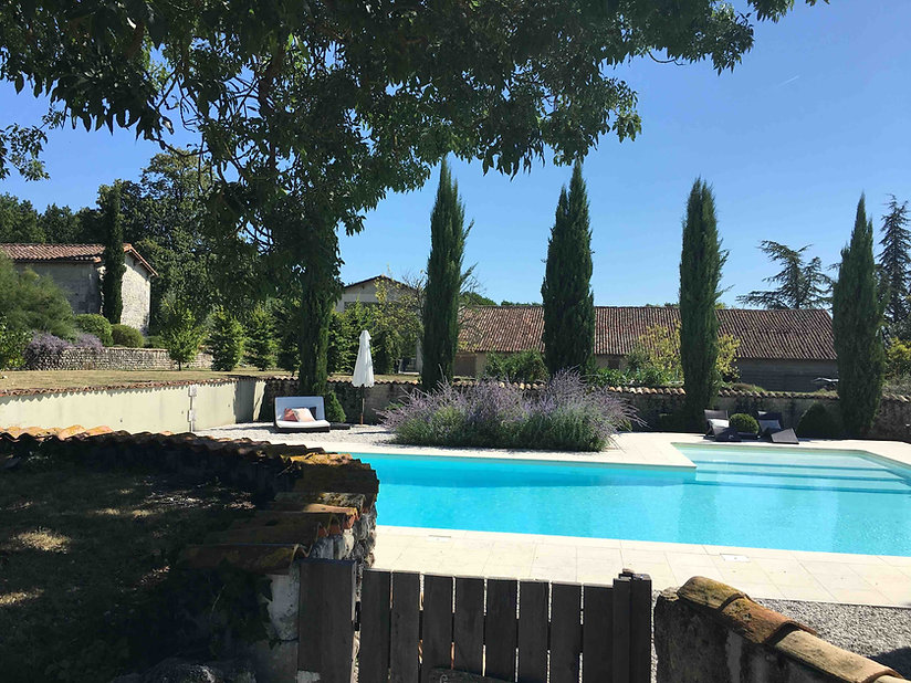 Bois Blanc, Charente, Gite, Cottage, Barn, old stone buildings, villa, 5 star, accomodation, self catering, Charente Maritime, Charente, Nouvelle Aquitaine, Cognac, vines, sunflowers, markets, walking, holidays, family, clean, modern, covid-19, couples, retreat, cycling, modern interiors, design, chic, pool, book direct,Bordeaux