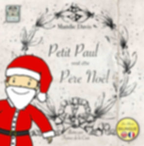 Petit Paul wants to be Father Christmas, a bilingual French/English childrens book published by Les Puces Ltd