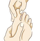 Reflexology Linking Course at Therapy Training Centre Yorkshire Northern England