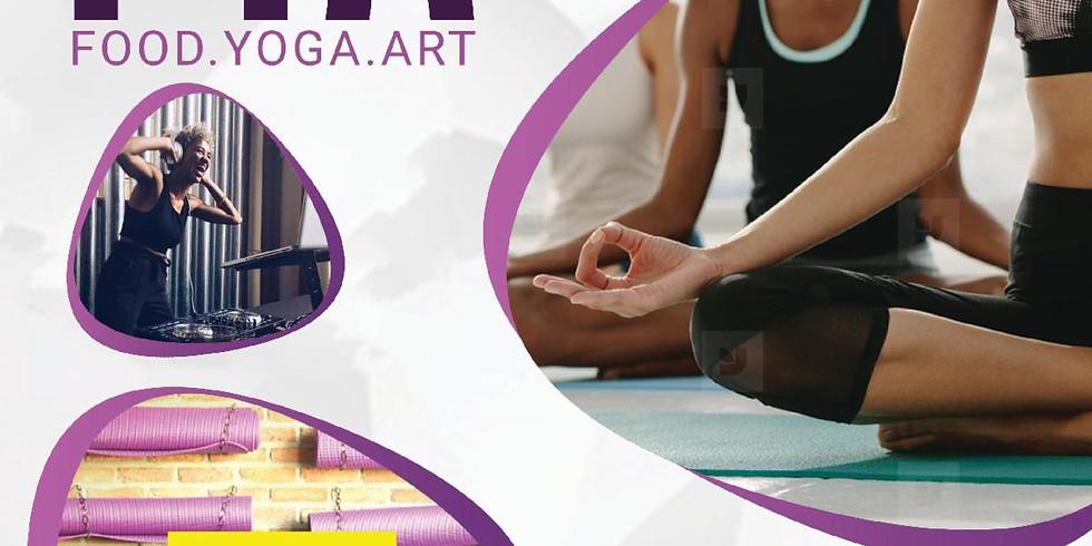 Million Mats Presents: Food Yoga Art