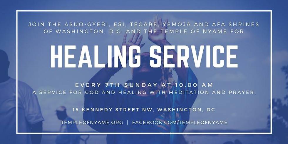 Meditation and Healing Service
