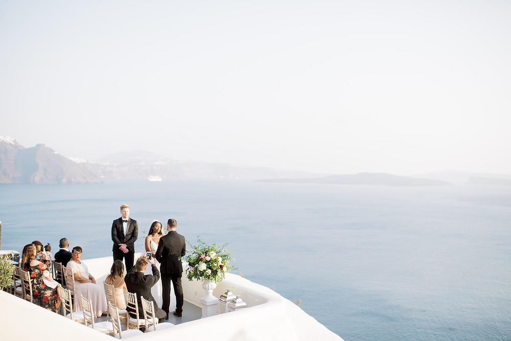 Canaves Oia - one of the most beautiful wedding venues on Santorini Island