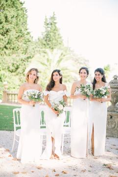 Destination wedding at Chateau de Robernier, Provence