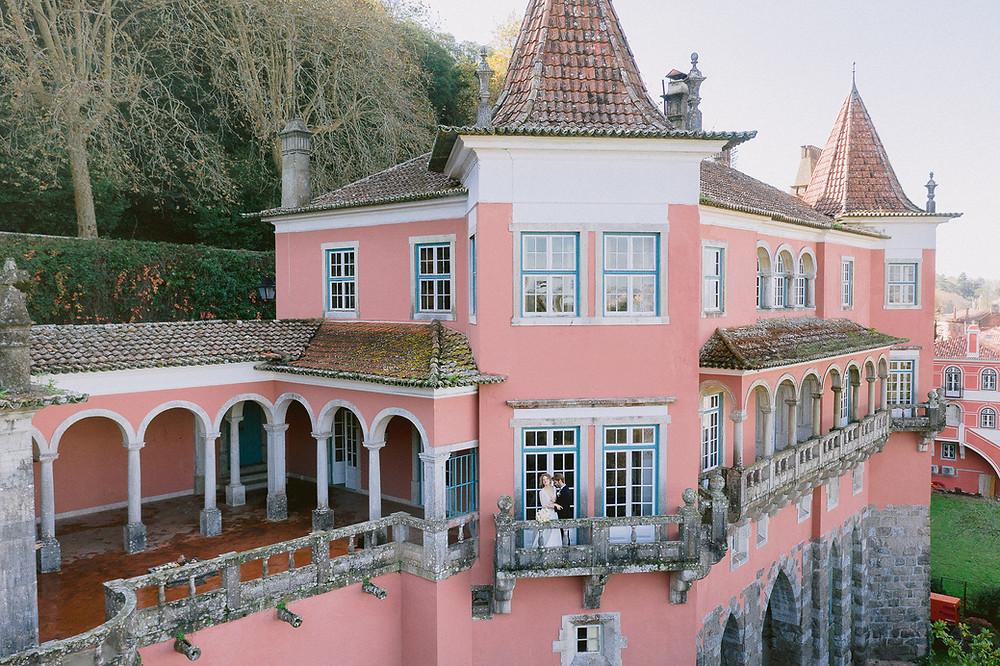 Casa dos Penedos - historical wedding venue in Sintra, Portugal
