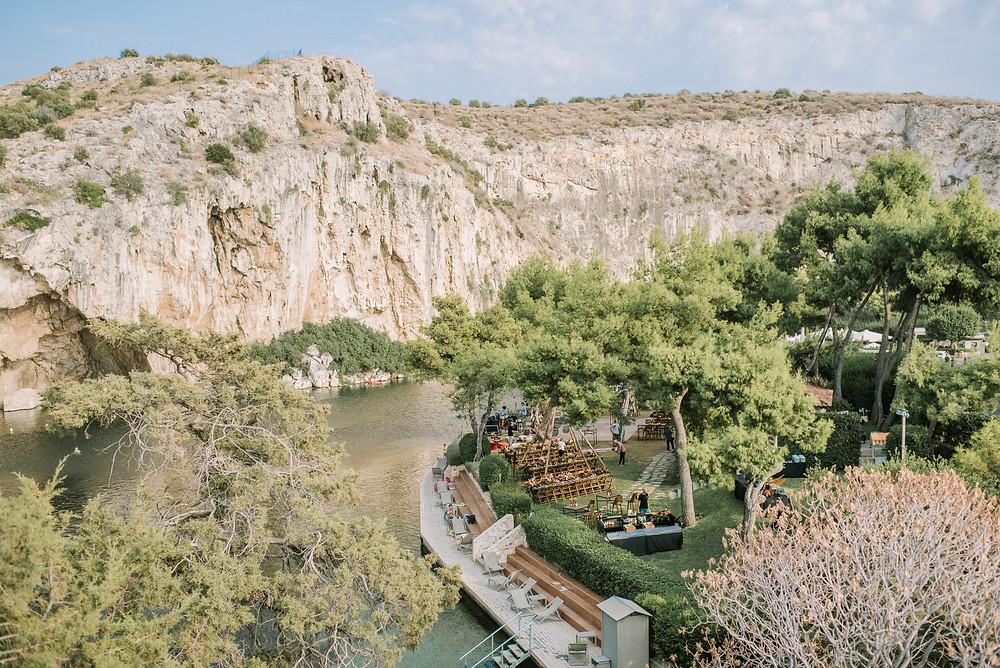 Wedding at Lake of Vouliagmeni - Dream Weddings Europe