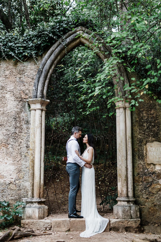 Destination wedding at Quinta das Lagrimas