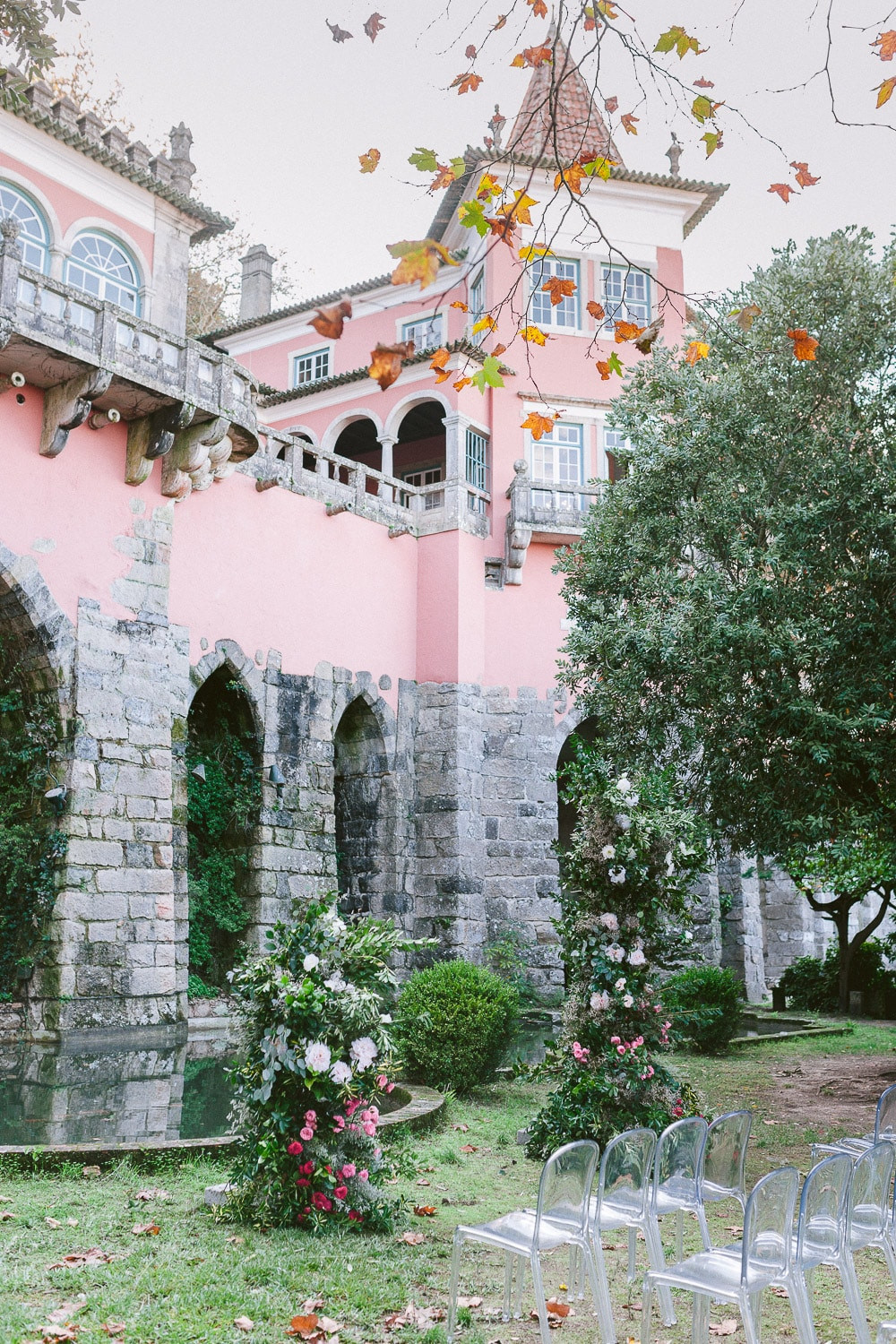 Garden at Casa dos Penedos in Sintra is perfect for a wedding ceremony