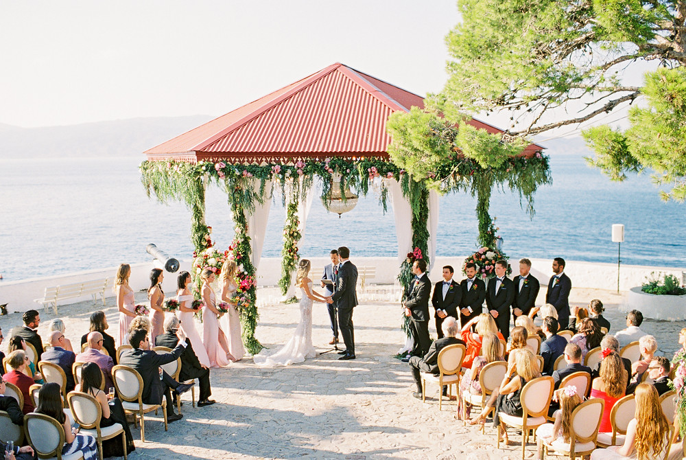The most beautiful wedding venues in Greece by Dream weddings Europe