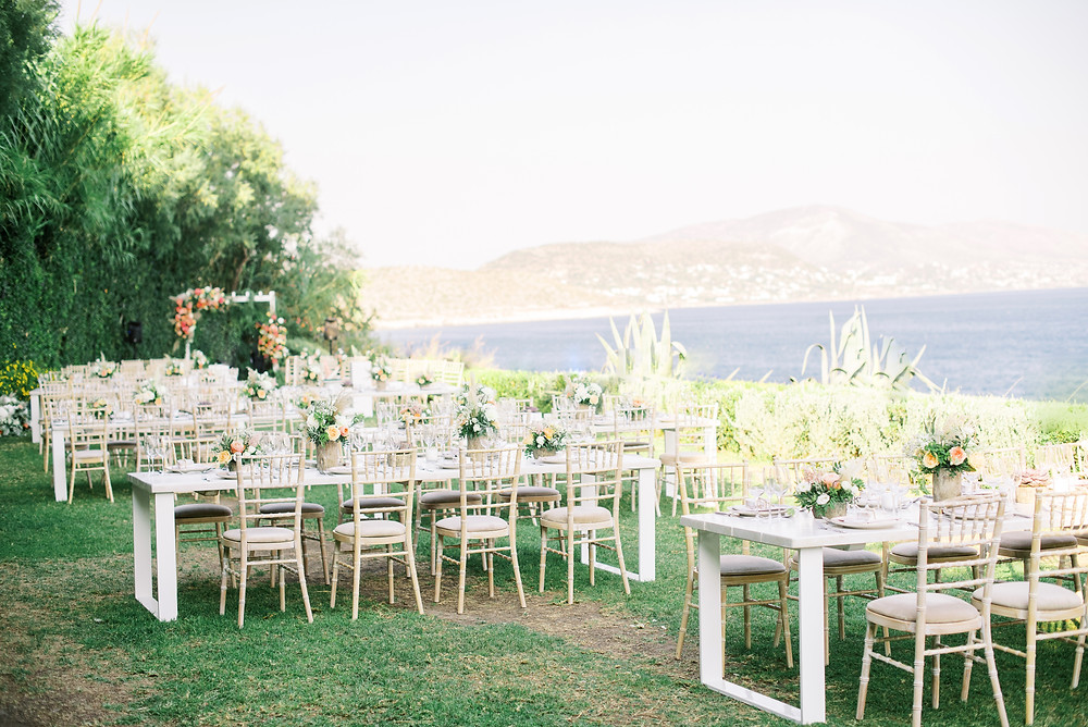 Island Athens riviera - one of the most beautiful wedding venues in Athens