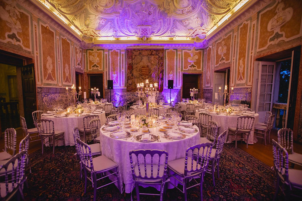 Casamento no Palacio Marques da Fronteira com Dream Weddings Europe