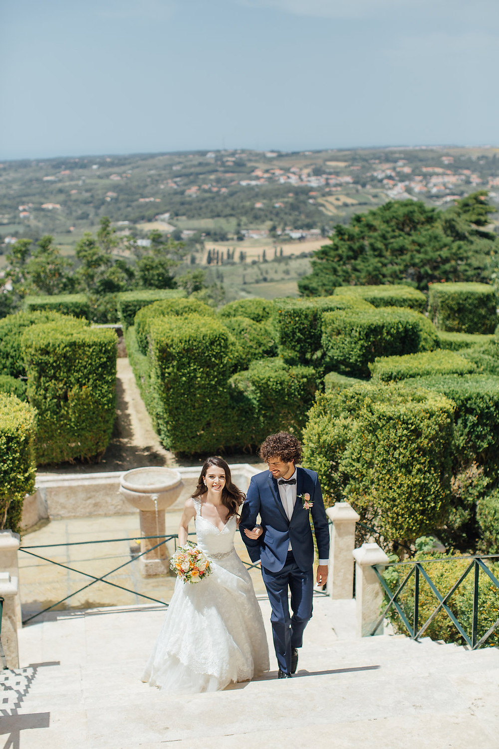 Lisbon's wedding venues: Seteais Palace in Sintra