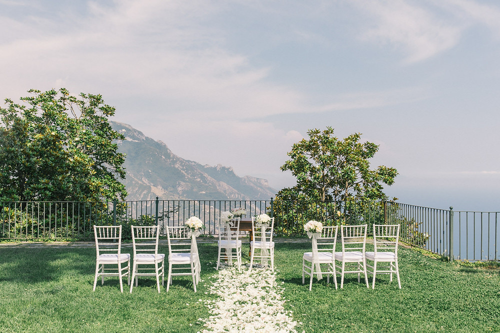 Intimate wedding in Italy Amalfi