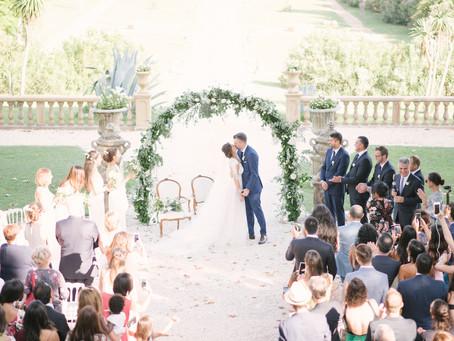 Serviço de organização parcial de casamentos em Portugal