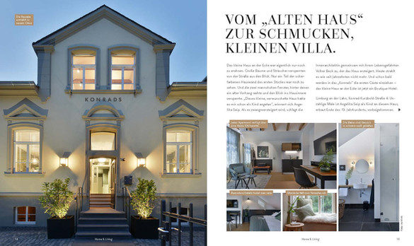 """Vom """"Alten Haus"""" zur schmucken Villa"""