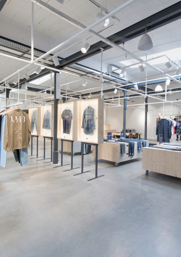 Levis Offenbach Showroom