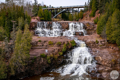 Gooseberry Middle & Lower Falls