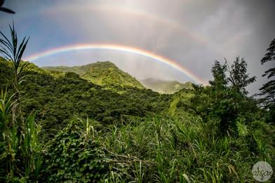 Tahitian Double Rainbow