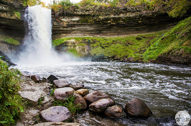 Minnehaha Falls, study III