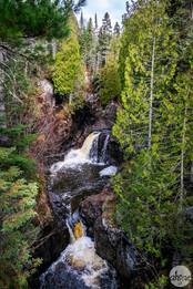 Cascade Falls, study I