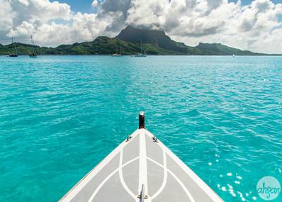 Polynesian Outrigger Sail, study IV