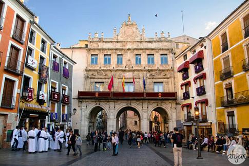 Holy Week in Cuenca, Spain