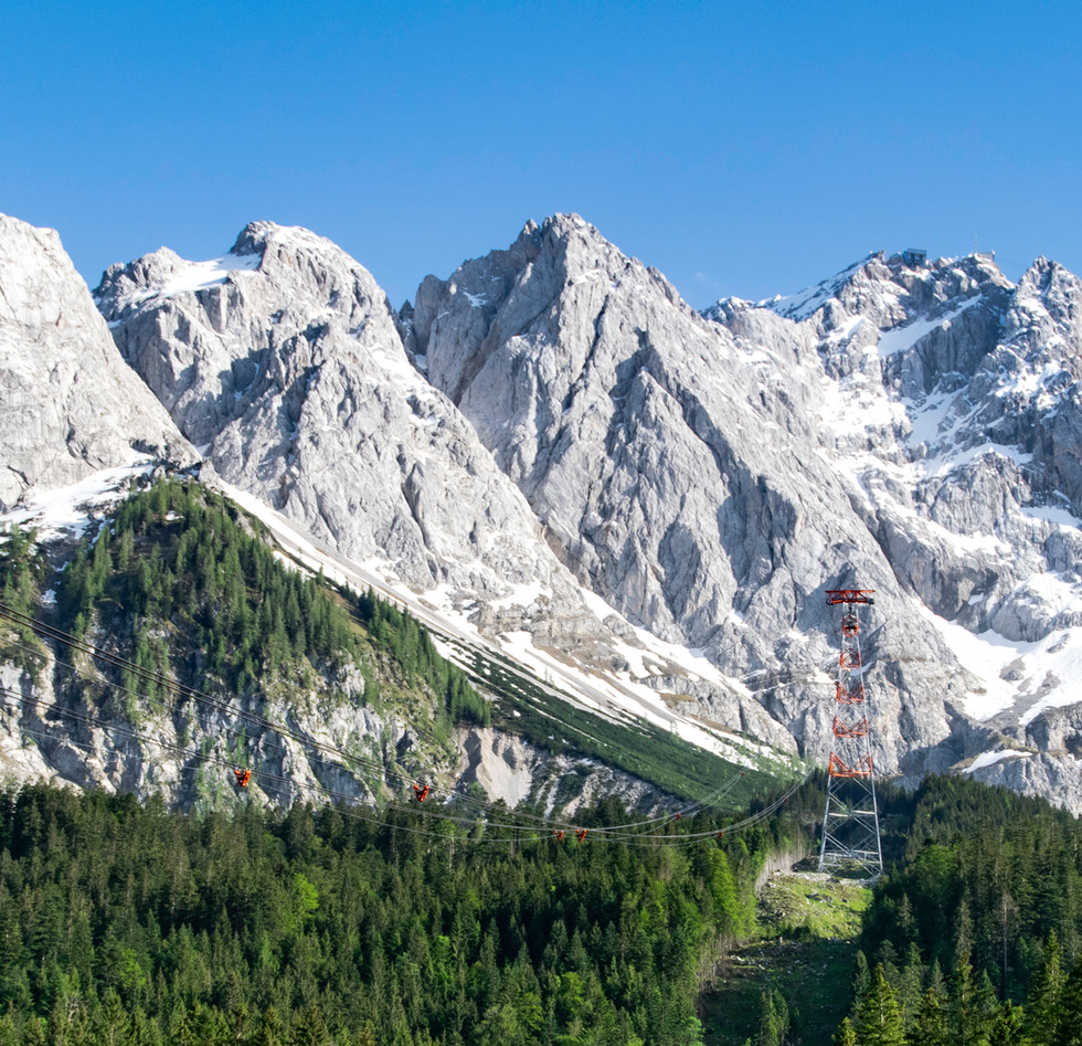 Zugspitze Cable Car