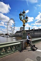 London Eye & Bagpipes