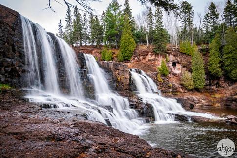 Gooseberry Middle Falls, study I