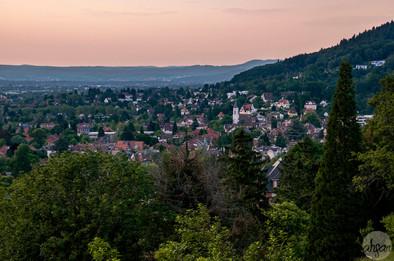 Sunset Over Freiburg
