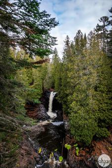Cascade Falls, study III