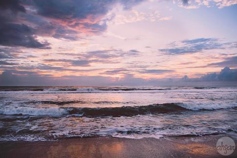 Pink Ocean Sunrise