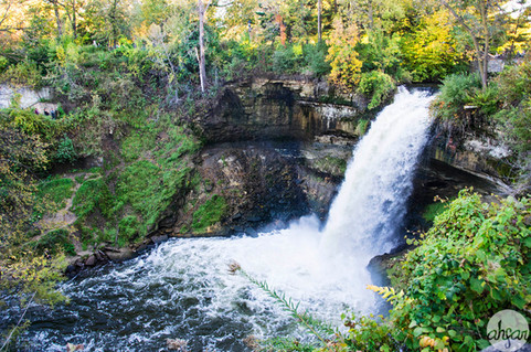 Minnehaha Falls, study I