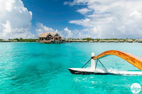 Polynesian Outrigger Sail, study I