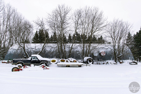 Up North Snowstorm Series, study VI