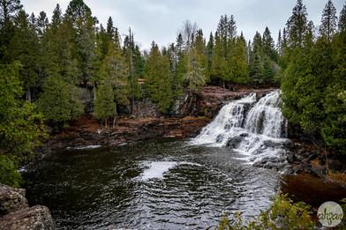 Gooseberry Upper Falls, study I
