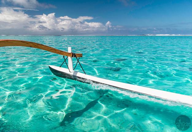 Polynesian Outrigger Sail, study III