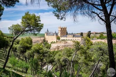 Alcázar de Segovia, study II