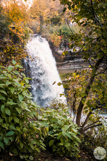 Minnehaha Falls, study IV